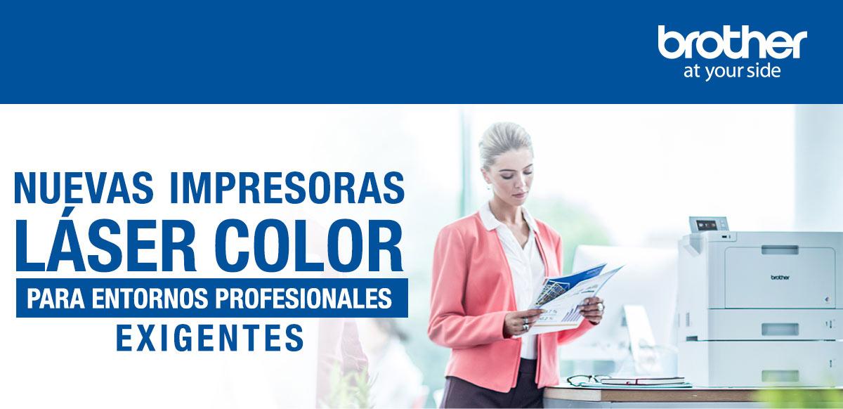 Nuevas Impresoras Láser Color