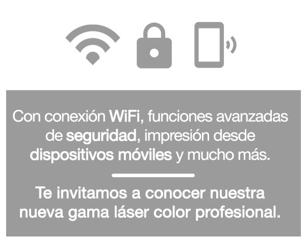 Características: WiFi, seguridad, impresión desde móvil